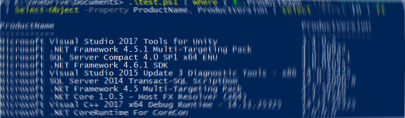 Enumerating installed MSI products with PowerShell and msi.dll