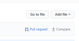 Button to create a pull request